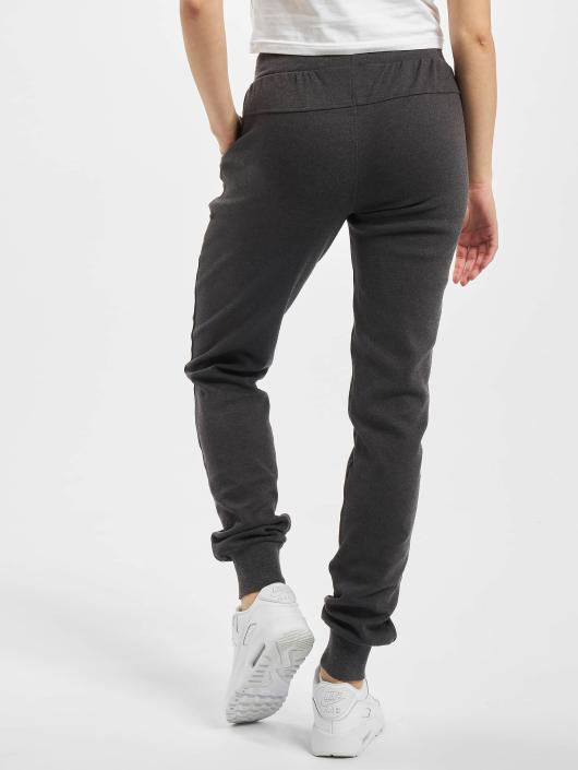 Urban Classics Spodnie do joggingu Fitted Athletic szary