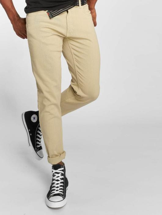 Urban Classics Straight Fit Jeans Basic Twill beige