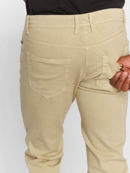 Urban Classics Straight Fit Jeans Basic Twill beige