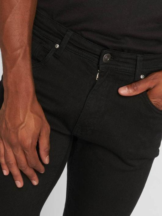 Urban Classics Straight Fit Jeans Basic Twill schwarz