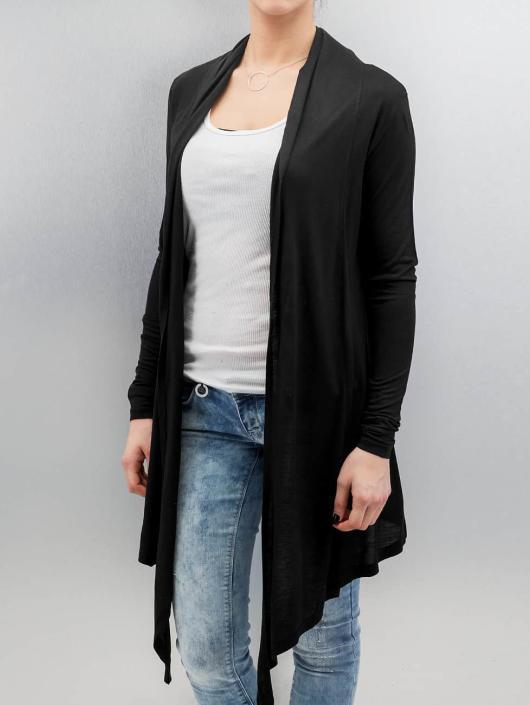 Urban Classics Strickjacke Ladies Viscose schwarz