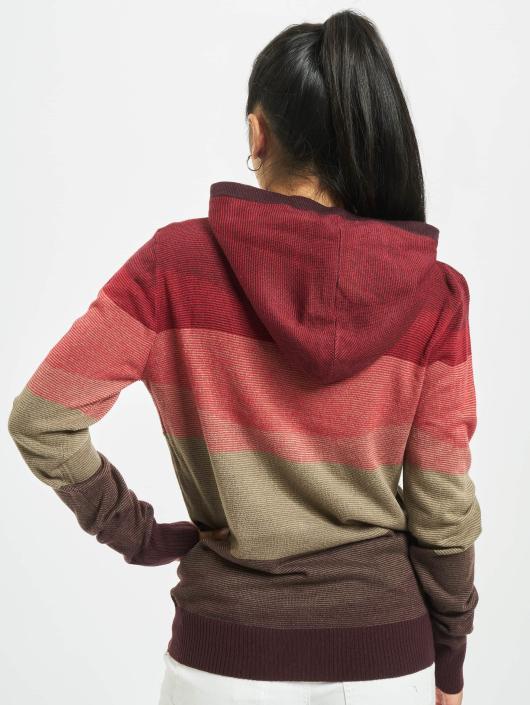 Urban Classics Sudadera Multicolored High Neck rojo