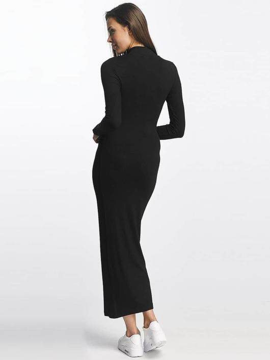 Urban Classics Sukienki Long Turtleneck czarny