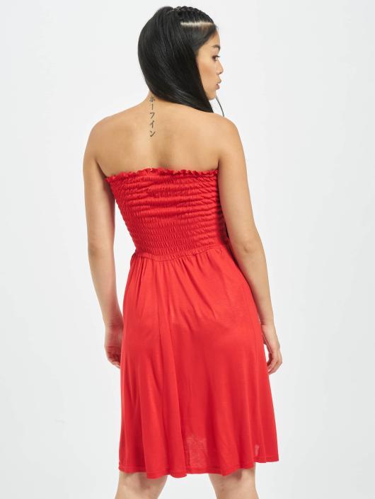 Urban Classics Sukienki Smoke czerwony