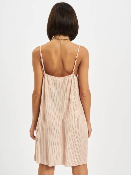 Urban Classics Sukienki Jersey rózowy