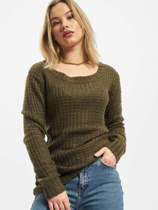 Pull Long Wideneck Urban Olive Sweatamp; Ladies Femme Classics 294520 Pnk0w8OX