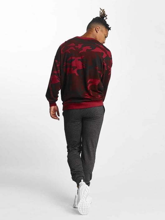 Urban Classics Sweat & Pull Camo rouge