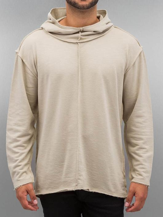 Urban Classics Long Slub Terry Open Edge Hoody Sand
