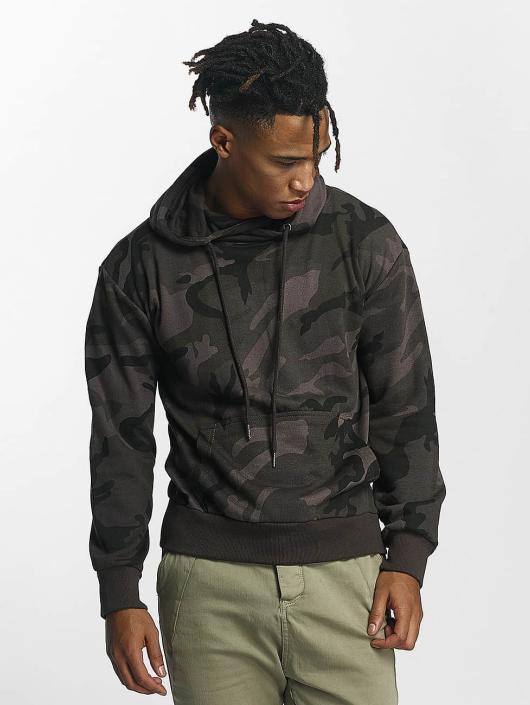 Urban Classics Sweat capuche High Neck Camo camouflage