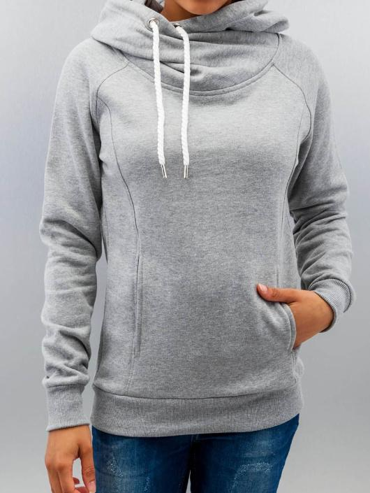 401c699f7f Urban Classics | Raglan High Neck gris Femme Sweat capuche 201355