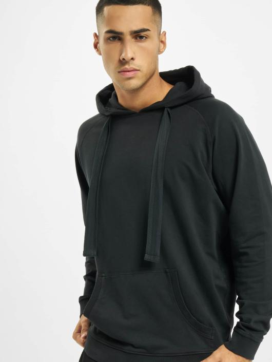 Urban Classics Sweat capuche Garment Washed Terry gris