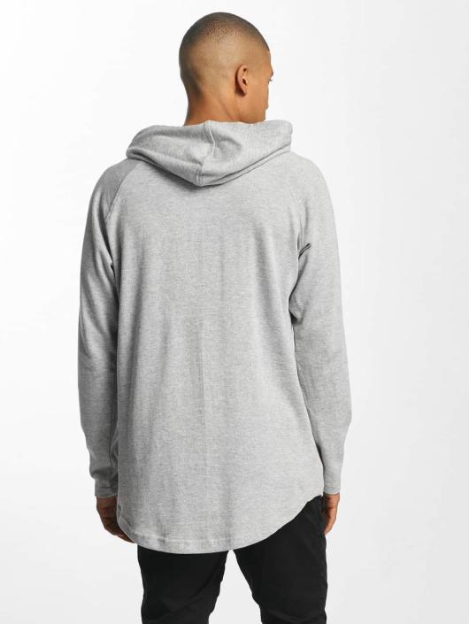 Gris 400114 Urban Shaped Terry Homme Capuche Classics Sweat Long K1lcTFJ