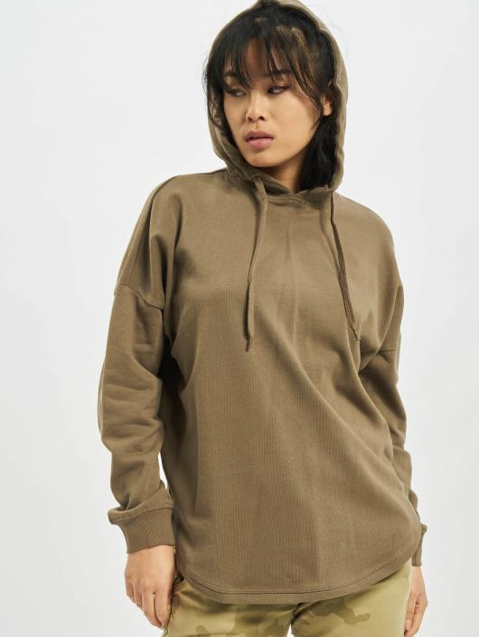 eb37aba107e7 ... Urban Classics Sweat capuche Oversized Terry kaki ...