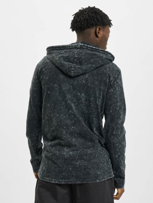 Urban Classics Sweat capuche Random Wash noir
