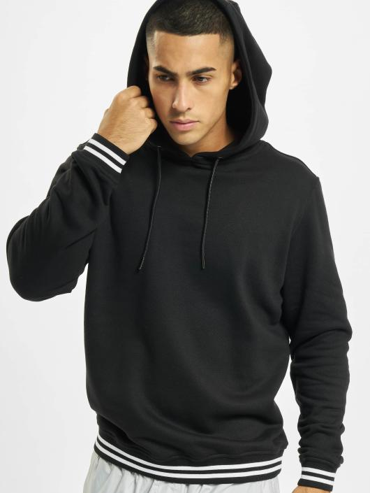 Urban Classics Sweat capuche College noir