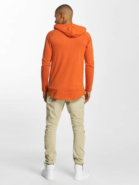 Urban Classics Sweat capuche Long Shaped Terry orange