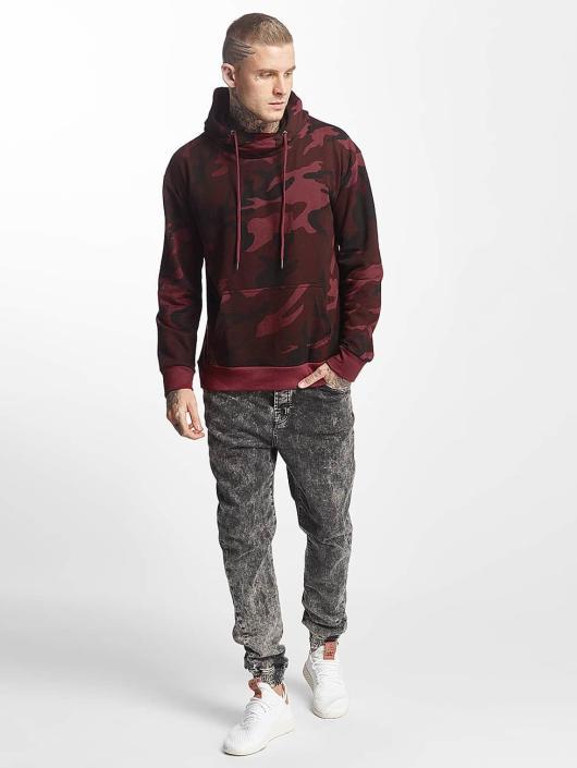 High Urban Camo Rouge Sweat Capuche Classics Homme 400153 Neck vmOy8wNn0