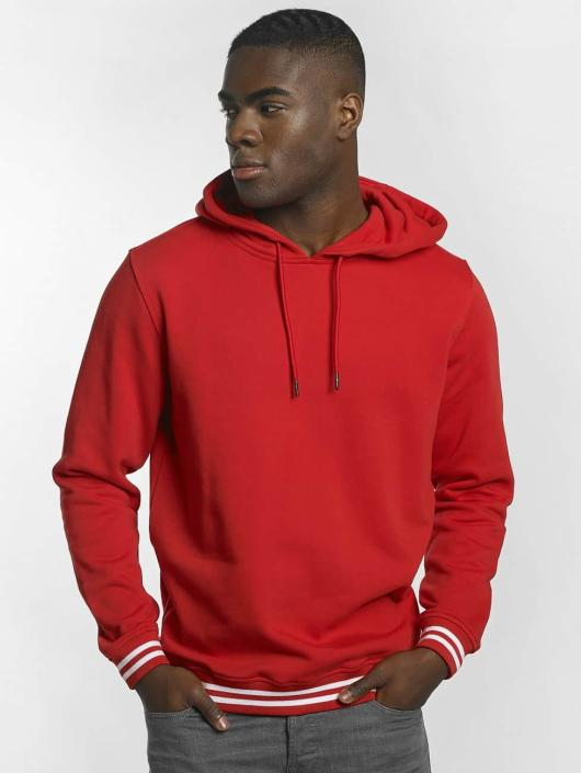 Urban Classics Sweat capuche College rouge