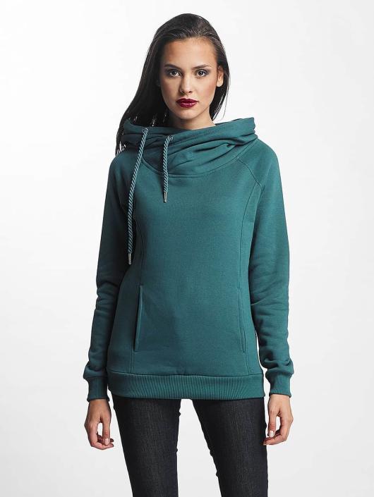 97e9881779a60 Urban Classics   Raglan High Neck turquoise Femme Sweat capuche 399053