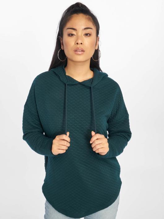 fcb8fff1288c5 Urban Classics   Quilt Oversize vert Femme Sweat capuche 293860