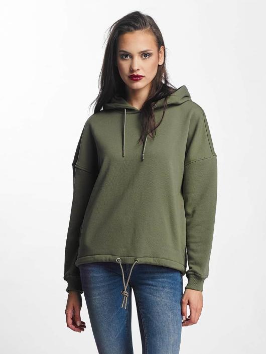 Urban Classics Sweat capuche Kimono vert