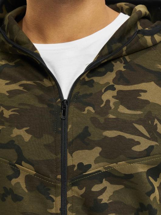 Urban Classics Sweat capuche zippé Interlock camouflage