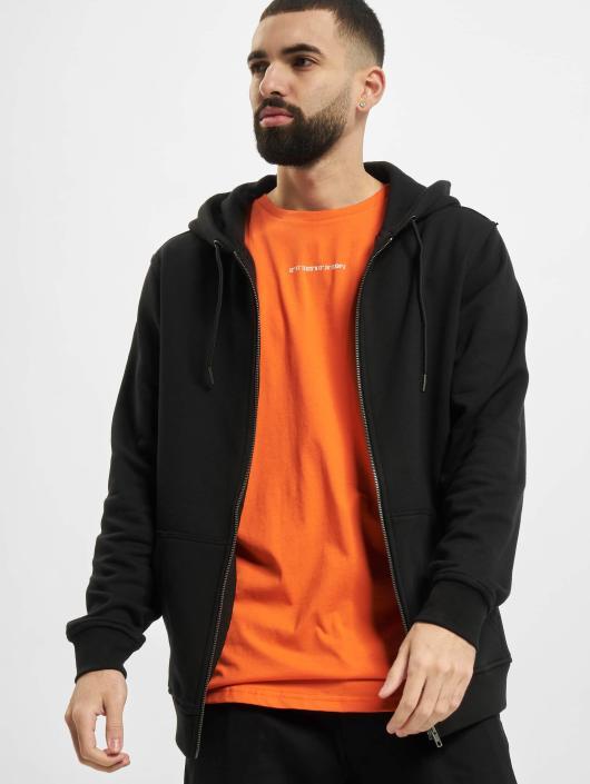400230 Noir Zippé Capuche Sweat Basic Homme Urban Classics GVULpqzMS