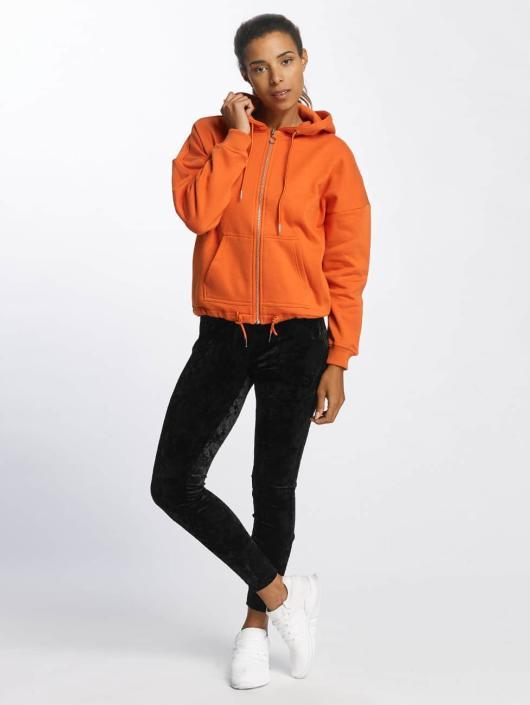 Kimono Femme Urban Sweat Capuche Zippé Orange Classics 399676 wnN0vm8O