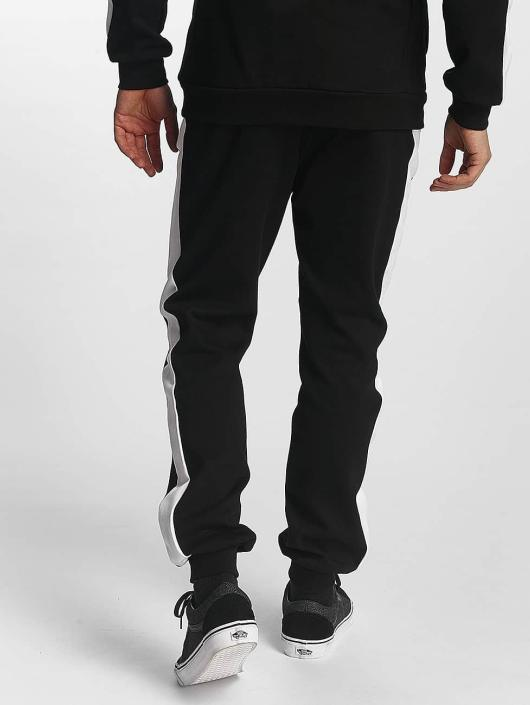 Urban Classics Sweat Pant 2 Tone Interlock black
