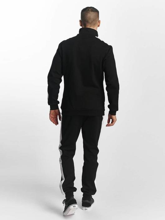 Urban Classics Sweat Pant 2 Tone Interlock black