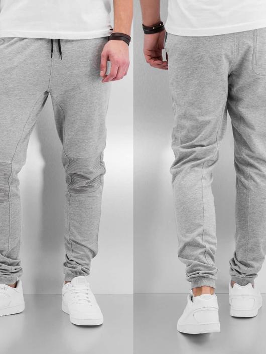 Urban Classics Sweat Pant Deep Crotch Terry Biker gray