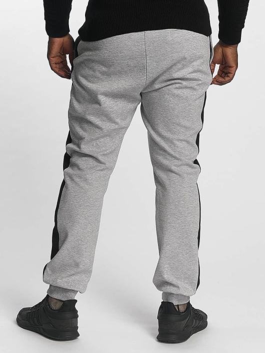 Urban Classics Sweat Pant 2 Tone Interlock gray