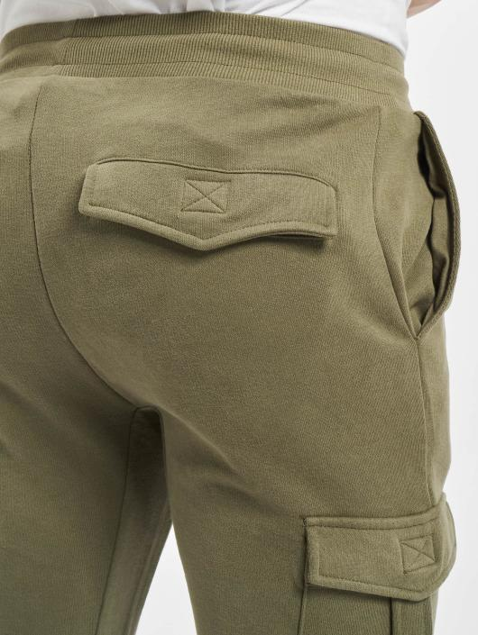 Urban Classics Sweat Pant Fitted Cargo olive