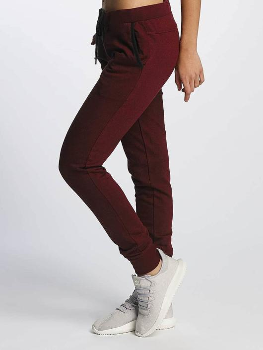 Urban Classics Sweat Pant Athletic Melange red