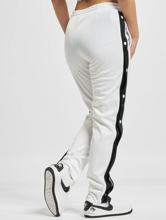 Urban Classics Sweat Pant Button Up white