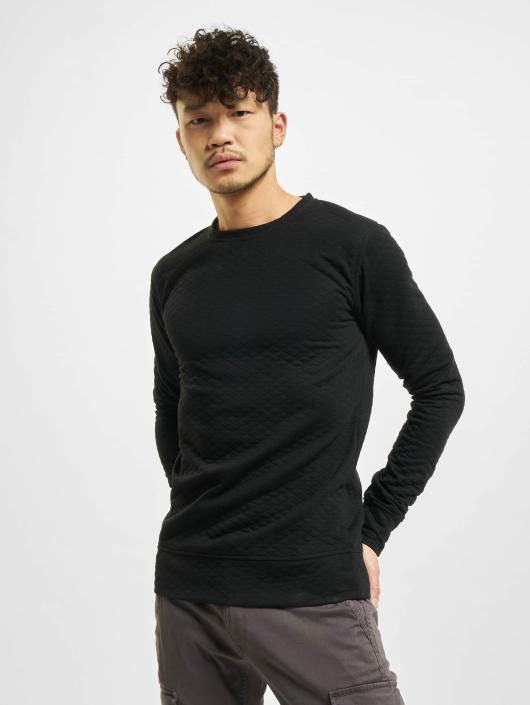 Urban Classics Swetry Diamond Quilt czarny