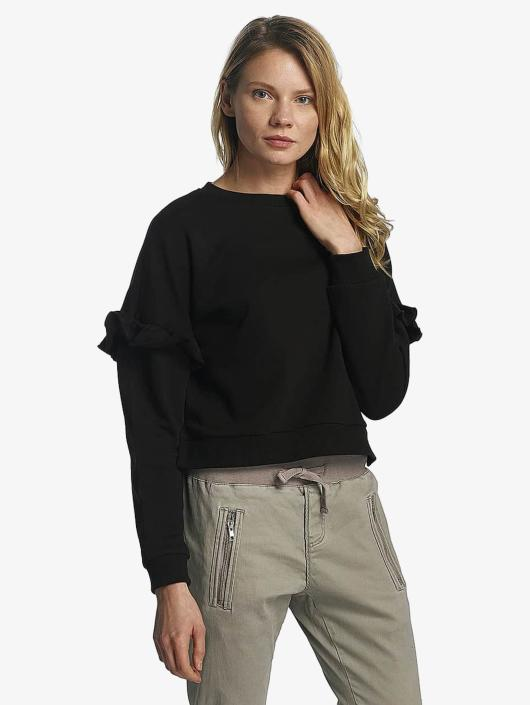Urban Classics Swetry Oversize Volant czarny