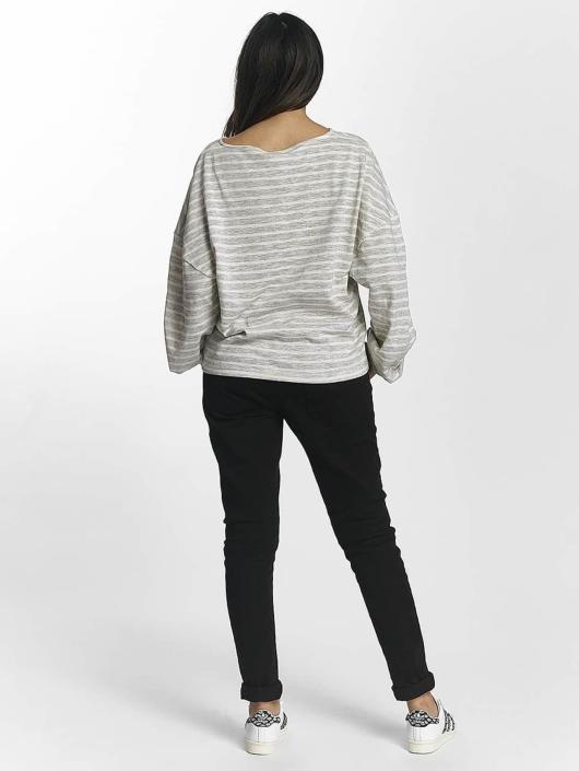 Urban Classics Swetry Oversize Stripe szary