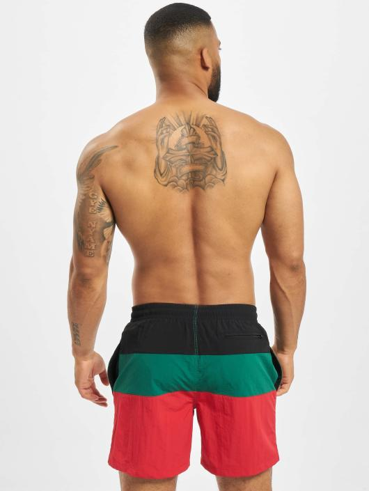 Urban Classics Swim shorts Color Block red