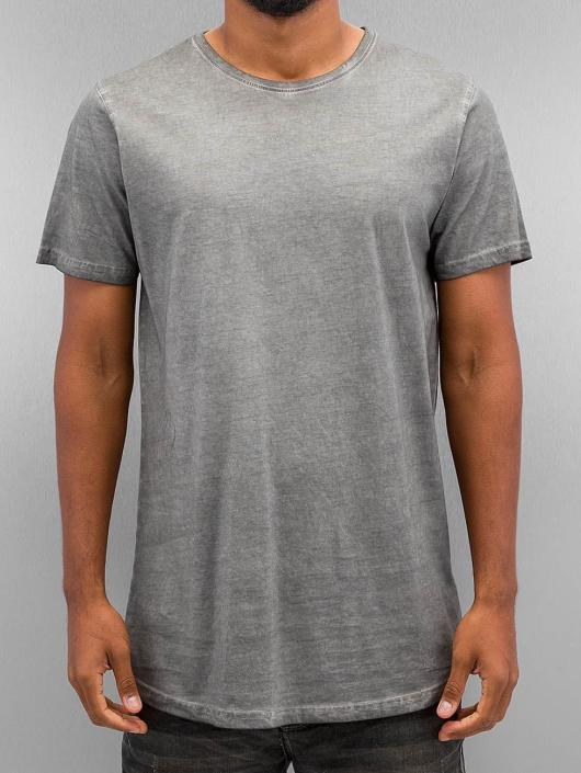Urban Classics T-paidat Shaped Long Cold Dye harmaa