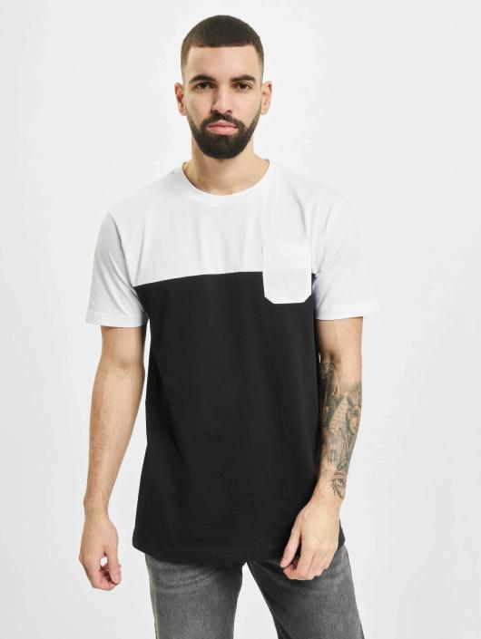 Urban Classics T-paidat Color Block Summer Pocket musta