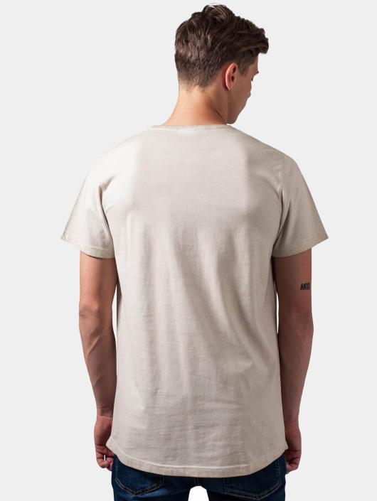 Urban T Beige Classics Dye 294021 shirt Long Cold Homme Shaped wOvm8n0yN