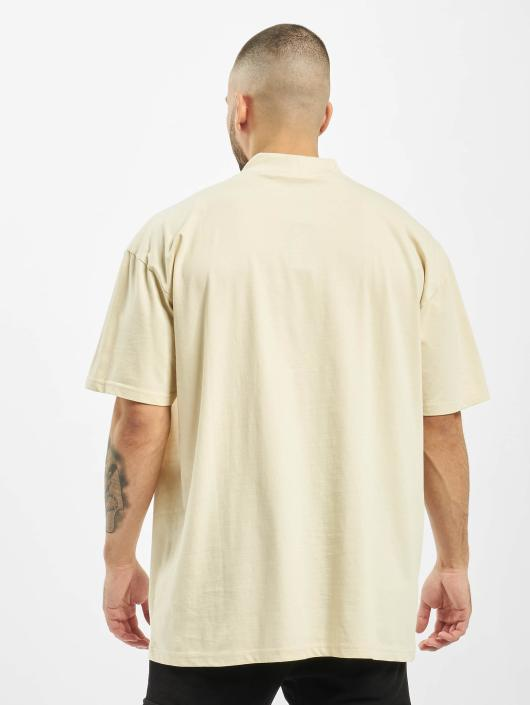 Urban Classics T-Shirt Oversized Turtleneck beige