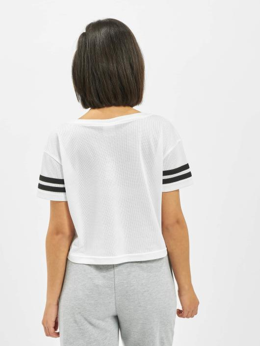 Urban Classics T-shirt Mesh Short bianco