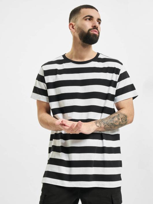Urban Classics T-Shirt Block Stripe black