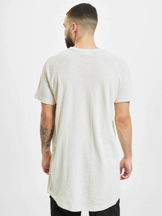 Urban Classics T-Shirt Thermal Slub blanc