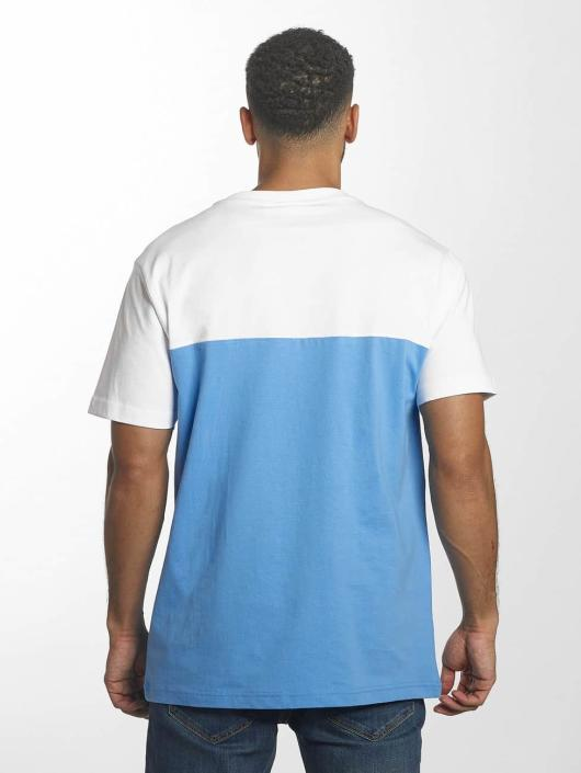 Urban Classics T-Shirt Color Block Summer Pocket bleu