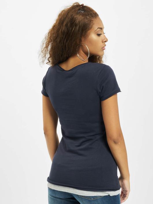 Urban Classics T-Shirt Two Colored blue