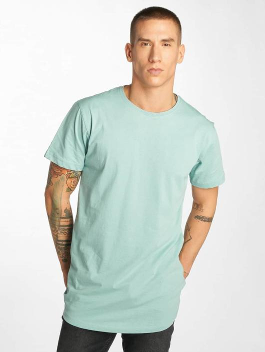 Urban Classics T-Shirt Shaped Long blue