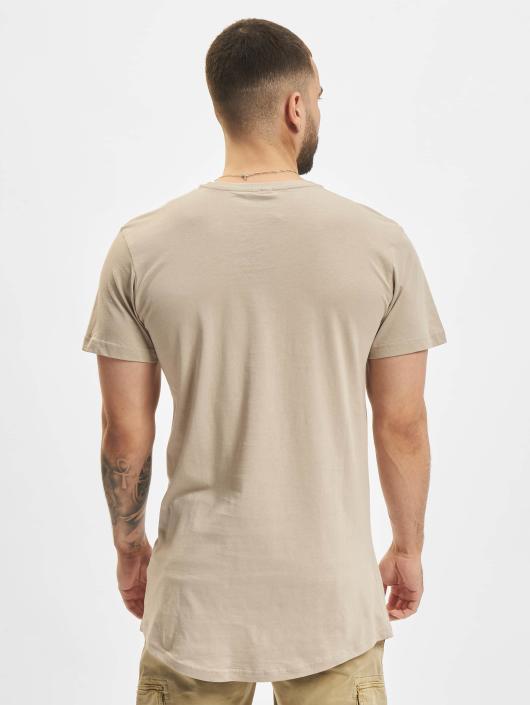Urban Classics T-Shirt Shaped Long brown